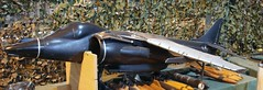 Harrier FRS2 wind tunnel model (kitmasterbloke) Tags: raf royalairforce wittering hawkersiddeley harrier av8b jumpjet vstol aircraft relic wreck museum heritage