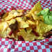 20171230_i1 Lovely nachos with cheese & guacamole at vegan café Vx | 73 Caledonian Road, London, England