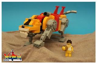 Hunk & Yellow Lion