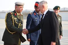 Mattis Travels to United Arab Emirates (Secretary of Defense) Tags: ussecretaryofdefensejamesnmattis unitedarabemirates jimmattis aldhafraairbase