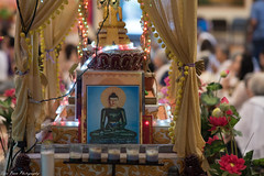 Buddha's statue (kuntheaprum) Tags: fundraising buddhism glorybuddhist temple lowell nikon d750 85mm f14 cambodian
