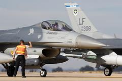 LastChecks_F-16FightingFalcon_USAirForce_KLUF (Tony Osborne - Rotorfocus) Tags: general dynamics f16 f16c viper fighting falcon united states air force usaf luke base arizona eor luf 2018