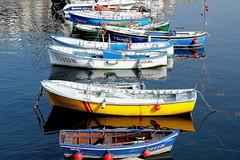 LANCHAS EN EL PUERTO DE TAPIA (mflinera) Tags: tapia asturias lanchas puerto mar agua colores