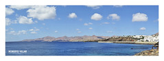 Puerto del Carmen - 3338b (ROBERTO VILLAR -PHOTOGRAPHY-) Tags: photografikarv lzphotografika lanzarotephotográfika puertodelcarmen imagenesdelanzarote fotosdelanzarote photobank mar volcanes