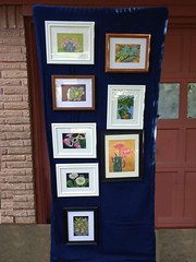 Display Stand (M.P.N.texan) Tags: stand display art painting paintings botanical handpainted original plant plants succulents succulent mpn