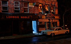 Luncheonette Night 6 (gpholtz) Tags: diorama miniatures 118 diecast 1961 corvair