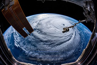 Hurricane Florence (from the ISS)