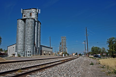 Broomfield, Colorado Steel Grain Elevator. (Wheatking2011) Tags: broomfield colorado steel grain elevator only three liked this was built one gove northeast loveland other east i25