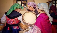 Festival performers in Ovieto, Spain (Randy Durrum) Tags: ovieto spain asturias tambourine dancers camino primitivo durrum samsung s9