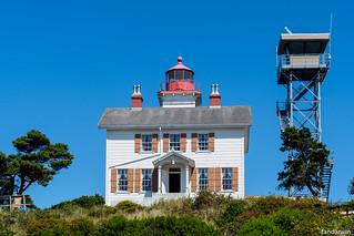 Yaquina Bay Lighthouse, Newport Oregon