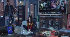 I'll bring the snacks (DamonFrost Resident) Tags: kunst modulus fameshed arcade etham junkfood