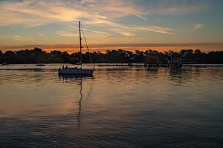 River Hamble Sunrise