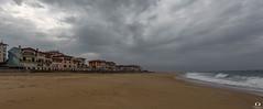 L'orage arrive sur Capbreton.. the storm arrives on Capbreton.. (Didier Gozzo) Tags: clouds nuages canon ngc outdoor beach sable plage landes capbreton storm orage sea mer océan