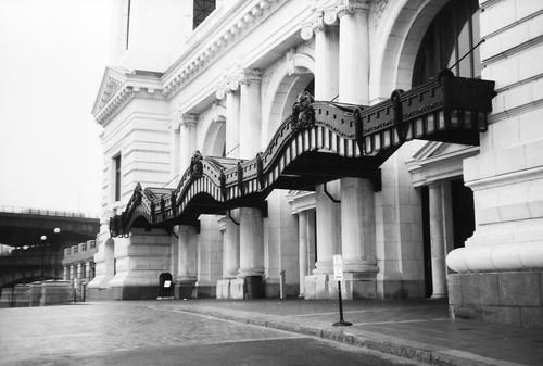 Worcester Massachusetts - Union Station - Entrance - 1911