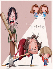 "Oh ""The Shining"", you scared the hell out of me as... (fannie.bowater) Tags: funny quotes message sayings signs"