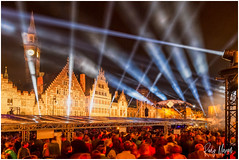Impressions of OdeGand (RudyMareelPhotography) Tags: europe flanders gent ghent graslei korenmarkt odegand fireworks eastflanders be flickr ngc
