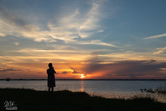 Sunset over Lake Washington (Michael Seeley) Tags: canon florida lakewashington lovefl melbourne mikeseeley sunset
