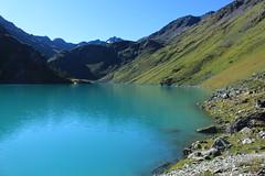 lac de Cleuson 2186 mètres (bulbocode909) Tags: valais suisse cleuson nendaz lacdecleuson lacs montagnes nature eau rochers vert bleu paysages