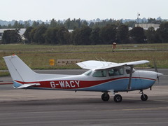 G-WACY Cessna Skyhawk 172 (Private Owner) (Aircaft @ Gloucestershire Airport By James) Tags: gloucestershire airport gwacy cessna skyhawk 172 private owner egbj james lloyds