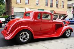Red street rod (D. C. Wilson) Tags: automobile car classic antique custom rod show wheel