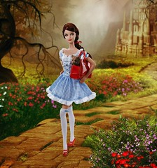 2010 Miss Dorothy Gale Barbie (Promo Image) (Paul BarbieTemptation) Tags: 2010 miss dorothy gale barbie wizard oz fantasy cosplay pink label