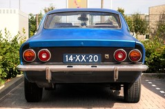 Opel Manta 'Custom' (Skylark92) Tags: nederland netherlands holland gelderland maurik opel manta 14xx20 1973 onk origineel nederlands kenteken lpg