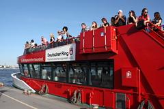 HADAG: Hafenfähre HARBURG am Anleger Altona (Fischmarkt) (Helgoland01) Tags: hamburg elbe river fluss deutschland germany schiff ship passagierschiff passengership hadag fähre ferry