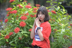 優子 (玩家) Tags: 2018 台灣 台北 台大 人像 外拍 正妹 模特兒 優子 戶外 定焦 無後製 無修圖 taiwan taipei portrait glamour model girl female yuuko outdoor d610 85mm prime teen supreme