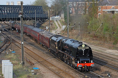 Yorkshire Duchess (paul_braybrook) Tags: 6233 46233 coronationclass duchessofsutherland pacific steamlocomotive york northyorkshire scarborough leicester charter railtour railway trains