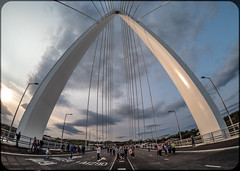 The Northern Spire. . . (CWhatPhotos) Tags: cwhatphotos camera photographs photograph pics pictures pic picture image images foto fotos photography artistic that have which contain digital olympus four thirds thenorthernspire new bridge crossing northern spire sunderland tyne and wear river opening public view views span brand cantilever