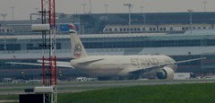 Etihad - national airline of the United Arab Emirates (Hear and Their) Tags: pearson international airport yyz toronto plane united arab emirates