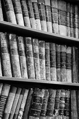 Centre Historique Minier, Lewarde (Elodie Henry) Tags: livre nb