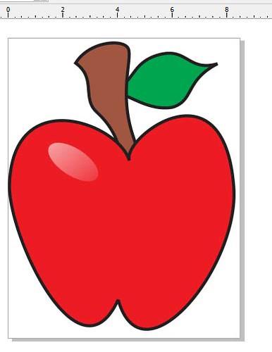 78+ Gambar Sketsa Apel Merah Paling Bagus