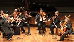 31 FESTIVAL DE MÚSICA ESPAÑOLA DE LEÓN  - ORQUESTA DE CÁMARA IBÉRICA - TATIANA FRANCO, FLAUTA & DAVID MATA, DIRECTOR - AUDITORIO CIUDAD DE LEÓN 10.9.18 (juanluisgx) Tags: leon spain musica music concierto concert 31festivaldemusicaespañoladeleon orquestaiberica davidmata tatianafranco violin geige flute flauta auditoriociudaddeleon 10918