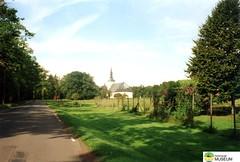 tm_5335 - Baltak, Västergötland (Tidaholms Museum) Tags: färgat positiv natur landsväg kyrka exteriör byggnad himmelsblå baltak church
