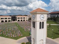 09-11-OSC-9-11-Memorial-Drone-Photo (Valencia College) Tags: drone 911 memorial flags osc