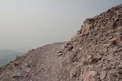 Trail going around the mountain (rozoneill) Tags: lassen volcanic national park peak hiking california volcano