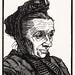 Portrait of Geertje Kuijer (1916) by Julie de Graag (1877-1924). Original from the Rijks Museum. Digitally enhanced by rawpixel.