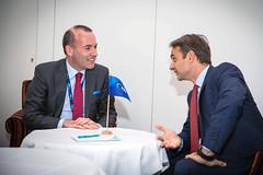 EPP Summit, Salzburg, 19 September 2018 (More pictures and videos: connect@epp.eu) Tags: epp summit european people party salzburg austria september 2018 kyriakos mitsotakis greece manfred weber group chairman