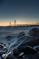 (Michaela Andtbacka) Tags: nature ostrobothnia österbotten bridge water longexposure lowlight