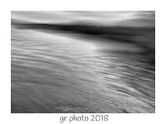 Key Impression (GR167) Tags: iphoneography iphoneart iphone blur blackandwhite seascape bw impressionism monochrome icm slowshutter