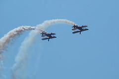 AeroSuperBatics Wing Walkers (fstop186) Tags: aerosuperbatics wingwalkers bournemouthairshow 2018 sarahfarmer