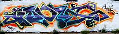 graffiti in amsterdam (wojofoto) Tags: amsterdam nederland netherland holland graffiti streetart wojofoto wolfgangjosten ndsm gnome