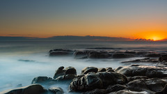 Point Arkwright (Visual Clarity Photography) Tags: 2018 spring nikon sunrise nikond500 landscape pacificocean australia whitewater nisicpl nisind8filter clouds longexposure september nikkor1635mmf4ed seq au landscapephotography d500 ocean sunshinecoast coolum nisifilters southeastqueensland nisireversegradnd8 queensland seascape rocks reversegrad pointarkwright qld sunshinebeach