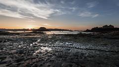 Sunset in Ploubalzanec (Arnaud Morin) Tags: beautiful nature beach sunset soleil brittany paysage landscape f4 1635mm bretagne d750 nikon vacances