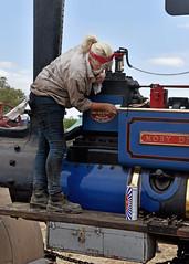 Dirty Girl.. (Harleynik Rides Again.) Tags: steamengine brasso dirtygirl cleaning polishing harleynikridesagain