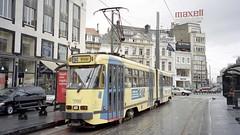 2002-07-02 Brussel Tramway Nr.7749 (beranekp) Tags: belgium brussel tramway tram tramvaj tranvia strassenbahn šalina elektrika električka 7749