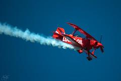 Mike Wiskus Pitts Special (Jersey JJ) Tags: mikewiskus pitts special aerobatic biplane lucas oil n5111b newyorkairshow