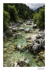Socha River (cornelis1980) Tags: socha river water stream blue green clear trees stones rocks mountains nature composition image photo beautiful fujifilm slovenia trenta valley