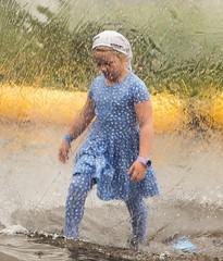 Beautiful day (joningic) Tags: nature girl reykjavík fjölskyldugarðurinn summer iceland fun joy glad